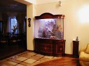 Аквариум к мебели из Италии на заказ